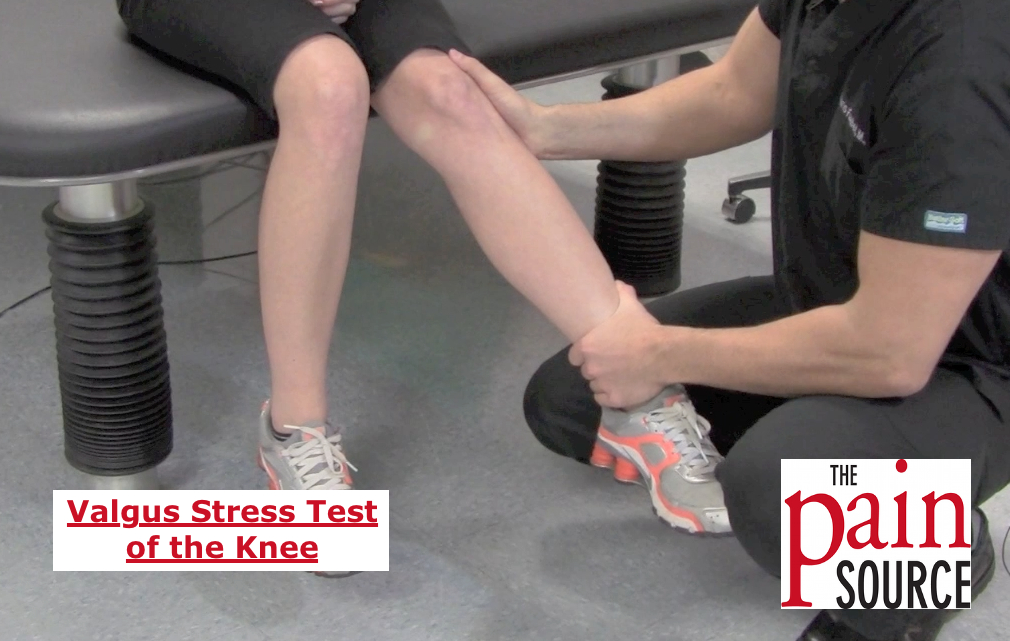 Valgus Stress Test (of the knee)