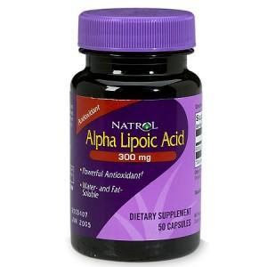 Alpha Lipoic Acid (ALA) - Natrol